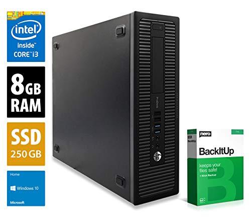PC de Bureau HP ProDesk 600 G1 SFF - i3-4130 (3.4 GHz), 8Go RAM DDR3, 256 Go SSD (Reconditionné, Vendeur Tiers)