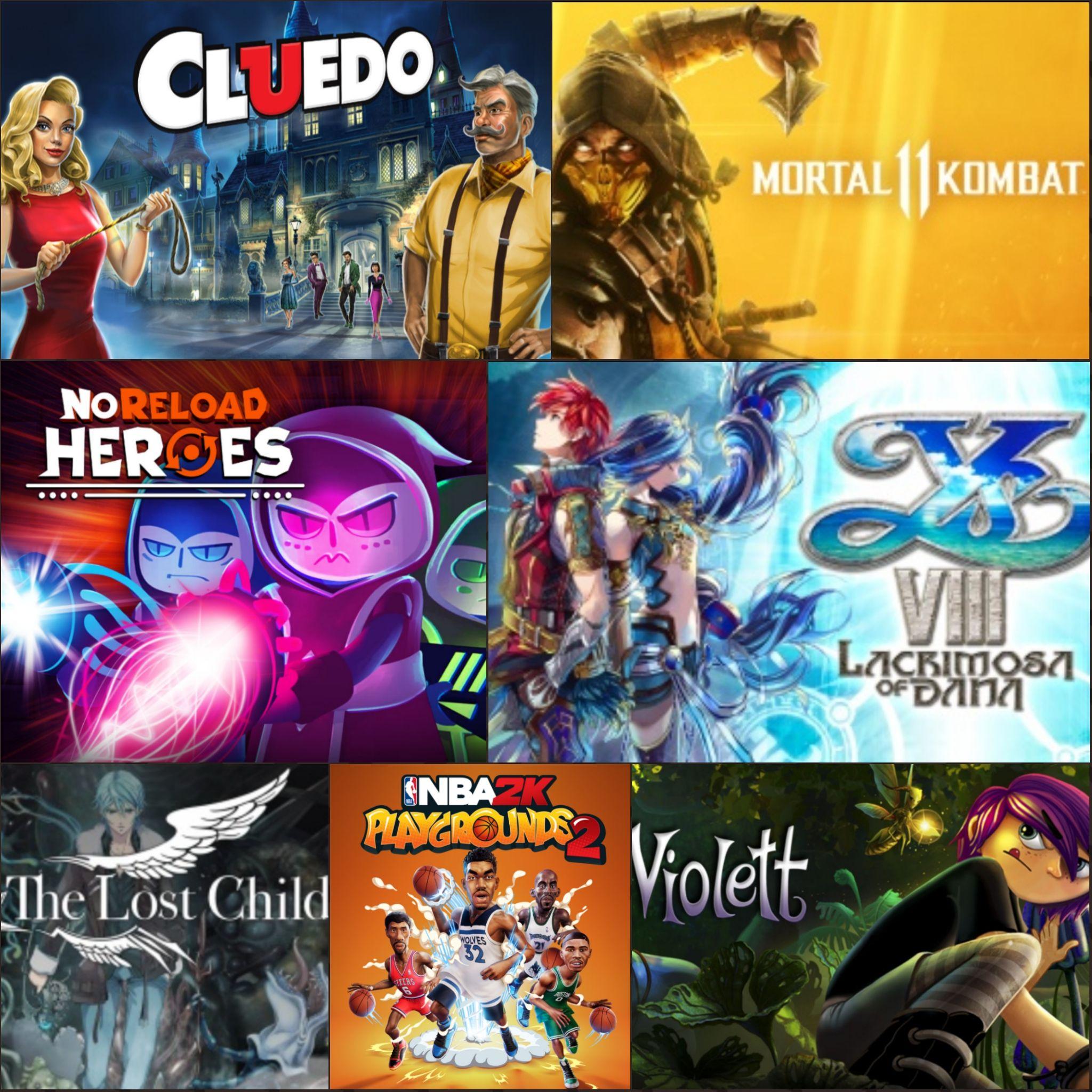 Sélection de Jeux Nintendo Switch (Dématérialisé - eShops Canada/US/Mexique) - ex: Noreload Heroes à 0.72€