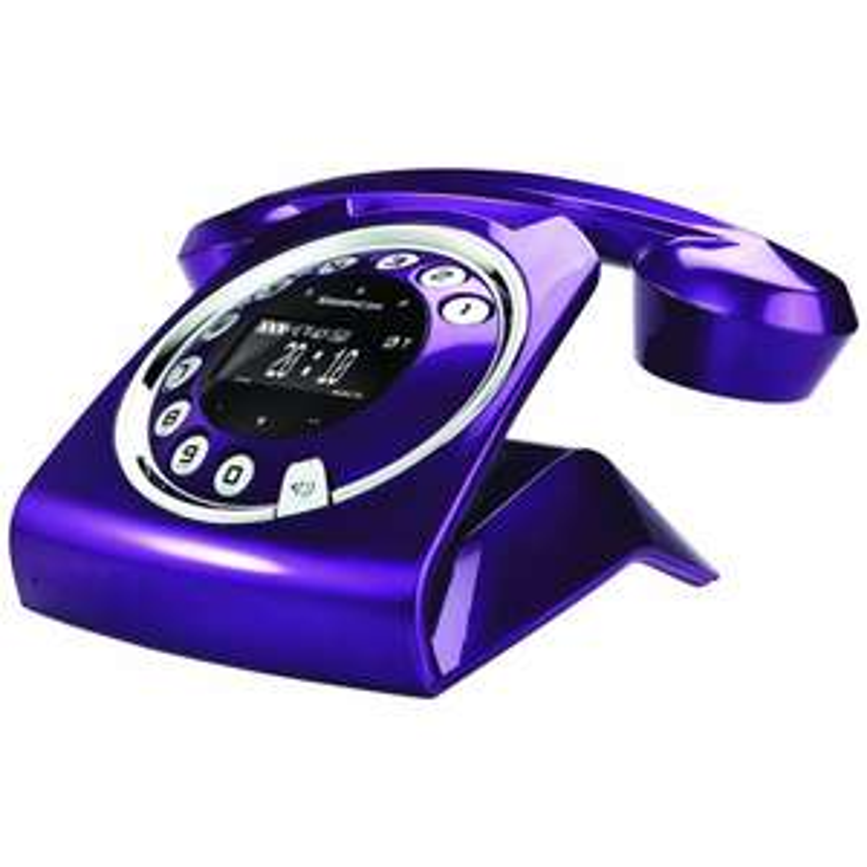 Sagemcom Sixty Violet fixe Sans fil Répondeur (Apres ODR 30€)