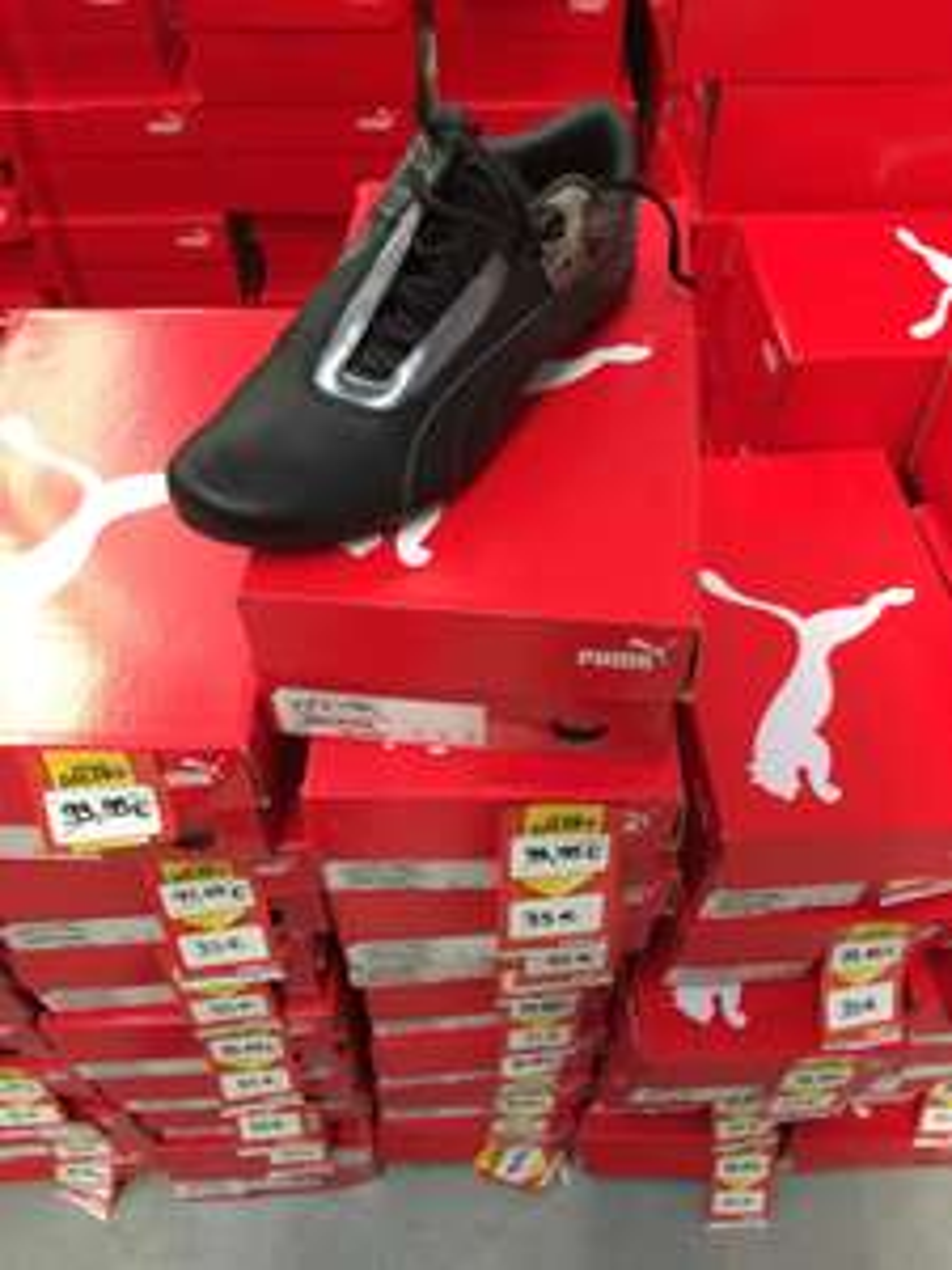 Chaussures Puma Future Cat S1 Atomisity - Noires
