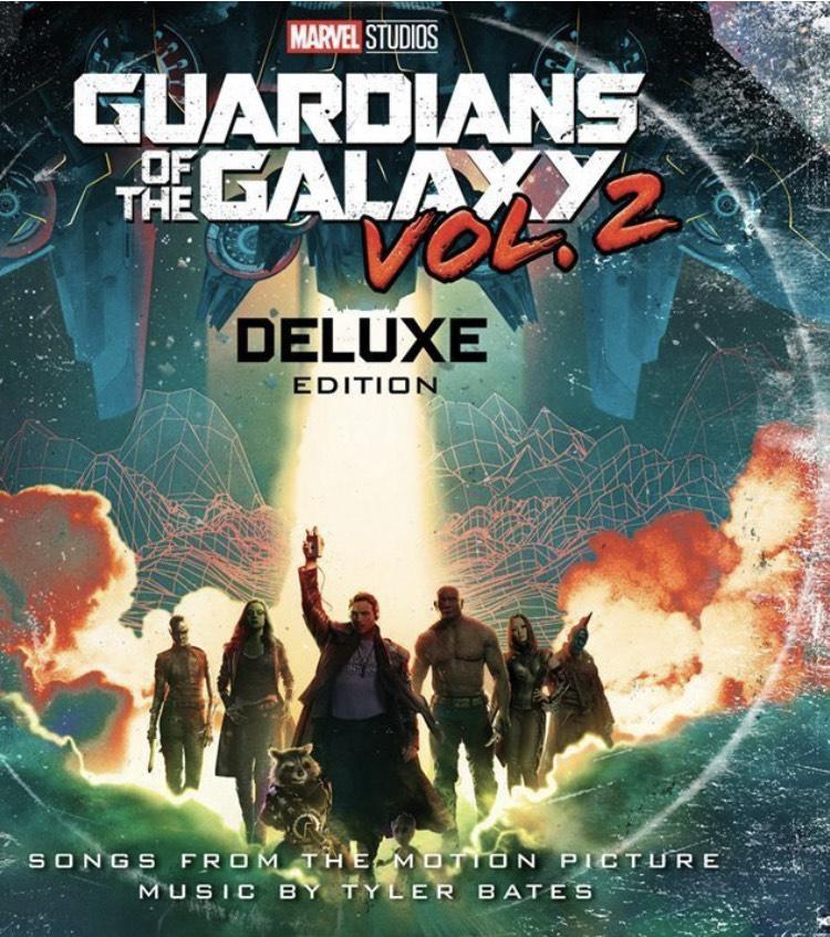 Double Vinyle Les Gardiens de la Galaxie volume 2 - édition Deluxe