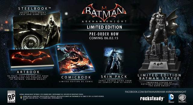 Batman Arkham Knight - Limited Edition sur Xbox One