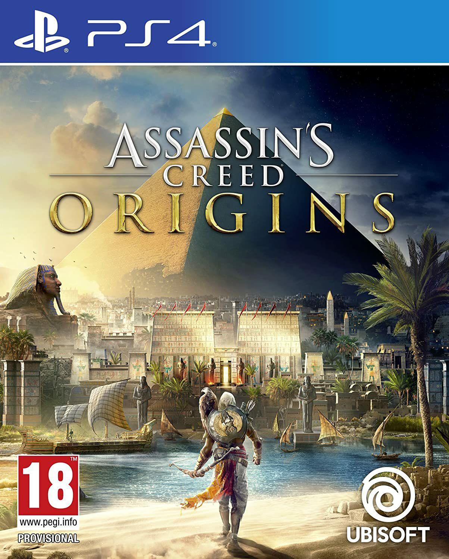 Assassin's Creed Origins sur PS4 (Version UK - en Anglais)