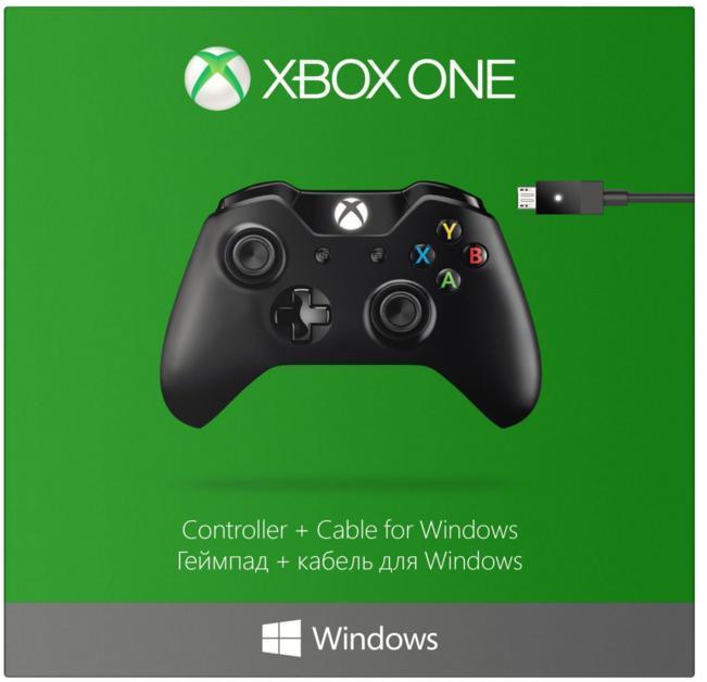 Manette Microsoft sans fil Xbox One + câble pour PC