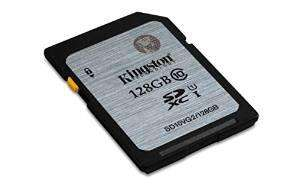 Carte SD Kingston SD10VG2 128 Go - Classe 10
