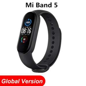 Bracelet connecté Xiaomi Mi band 5 - Global Version