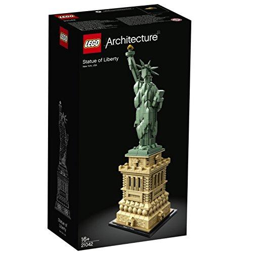 Jeu de construction Lego 21042 Architecture - La Statue de la Liberté