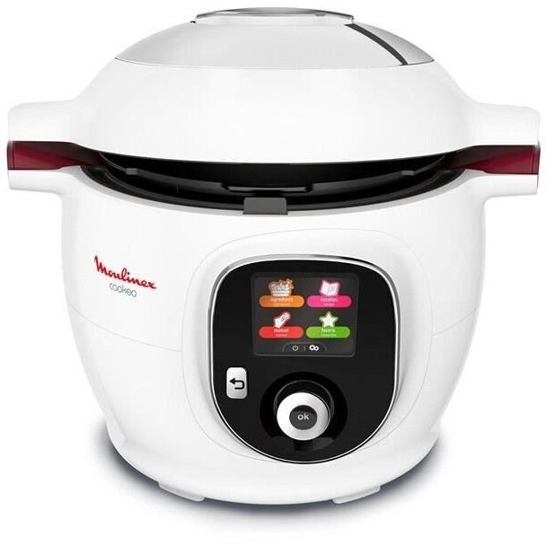 Multicuiseur Moulinex Cookeo 1600W CE700100 - 100 recettes