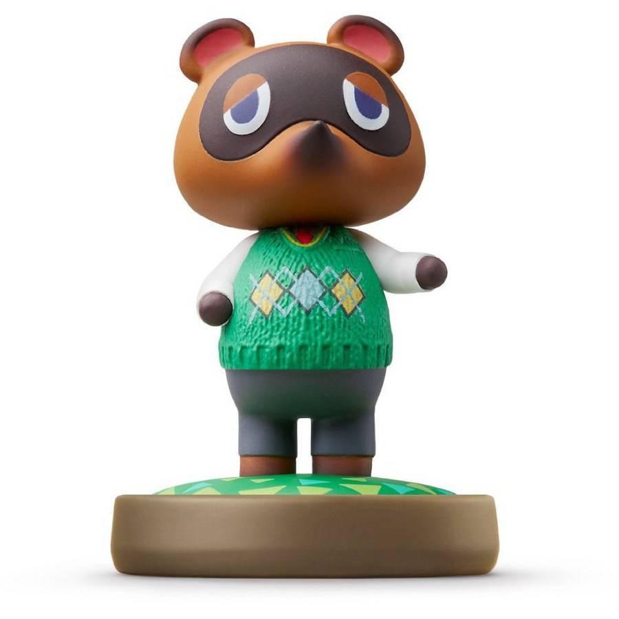 Sélection d'Amiibo Animal Crossing - Ex : Figurine Layette ou Tom Nook