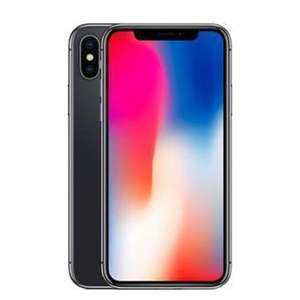 "Smartphone 5.8"" Apple iPhone X - Gris sidéral, 64Go (Reconditionné - Comme neuf)"