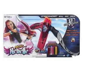 Jouet Arc Multishoot Nerf Rebelle - Rose