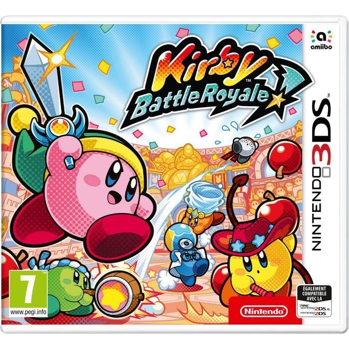 Jeu Kirby battle royale sur Nintendo 3DS