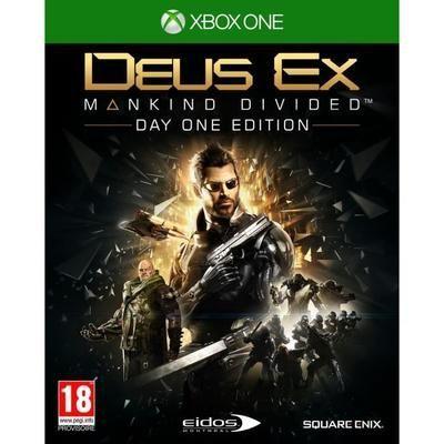 Deus Ex Mankind Divided Augmented Edition sur Xbox one