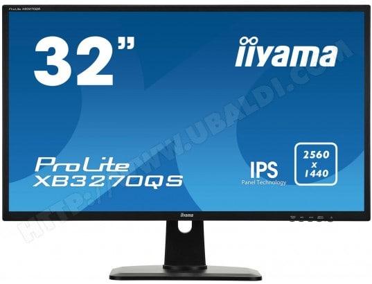 """Ecran PC 32"""" Iiyama XB3270QS-B1 - QHD, 4ms"""