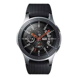 Montre connectée Samsung Galaxy Watch - 46 mm, 4G eSim, Gris Acier