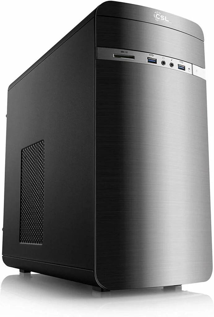 PC de bureau Droinks - Ryzen 5 3400G, 2x4 Go de Ram 2666MHz Crucial Ballistix, SSD 240 Go WD, Sans OS
