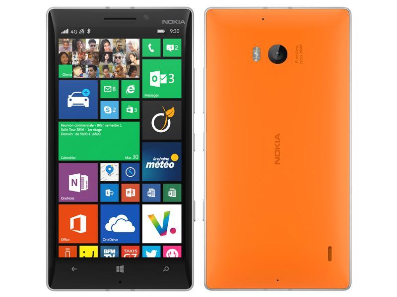 "Smartphone 5"" Nokia Lumia 930 - Orange"