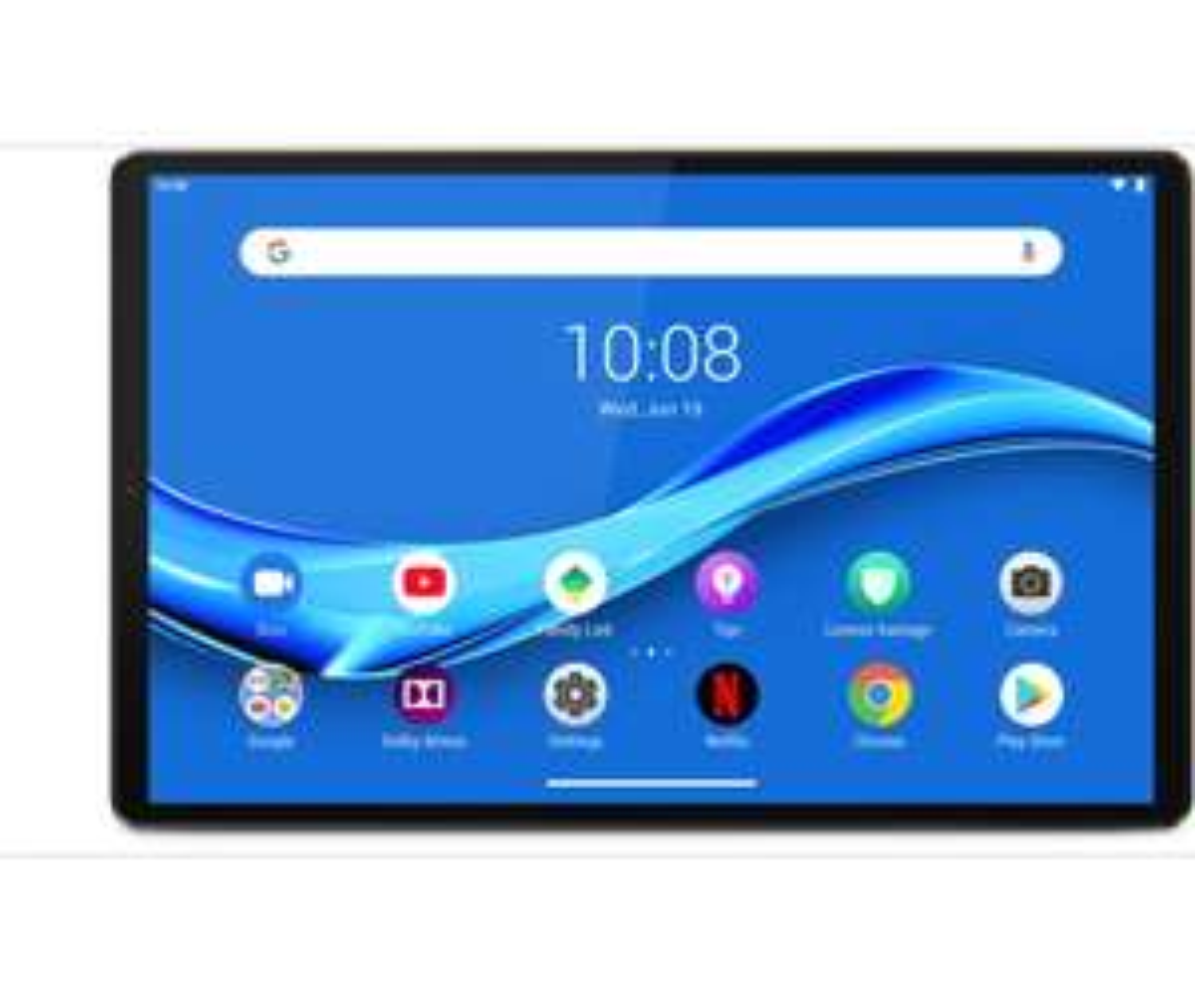 "Tablette tactile 10.3"" Lenovo Tab M10 Plus V2 (ZA5T0302) - Full HD, Helio P22T, 4 Go de RAM, 64 Go, Grise"
