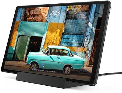 """Tablette tactile 10.3"""" Lenovo Tab M10+ - Full HD, Helio P22T, 4 Go de RAM, 128 Go + Dock"""