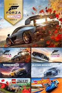 Pack Forza Horizon 4 Ultimate Edition + Forza Horizon 3 Ultimate Edition sur Xbox One & PC (Dématérialisé)