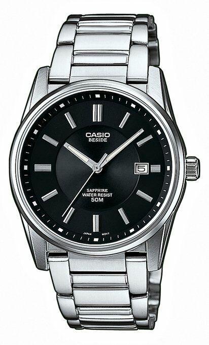 Montre quartz Casio BEM-111D-1AVEF -  Bracelet en acier