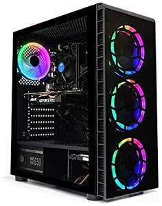 PC Fixe ADMI Gaming PC - i5 9400F, 16 Go RAM, 240 Go SSD + 1 To HDD, RTX 2060, Windows 10