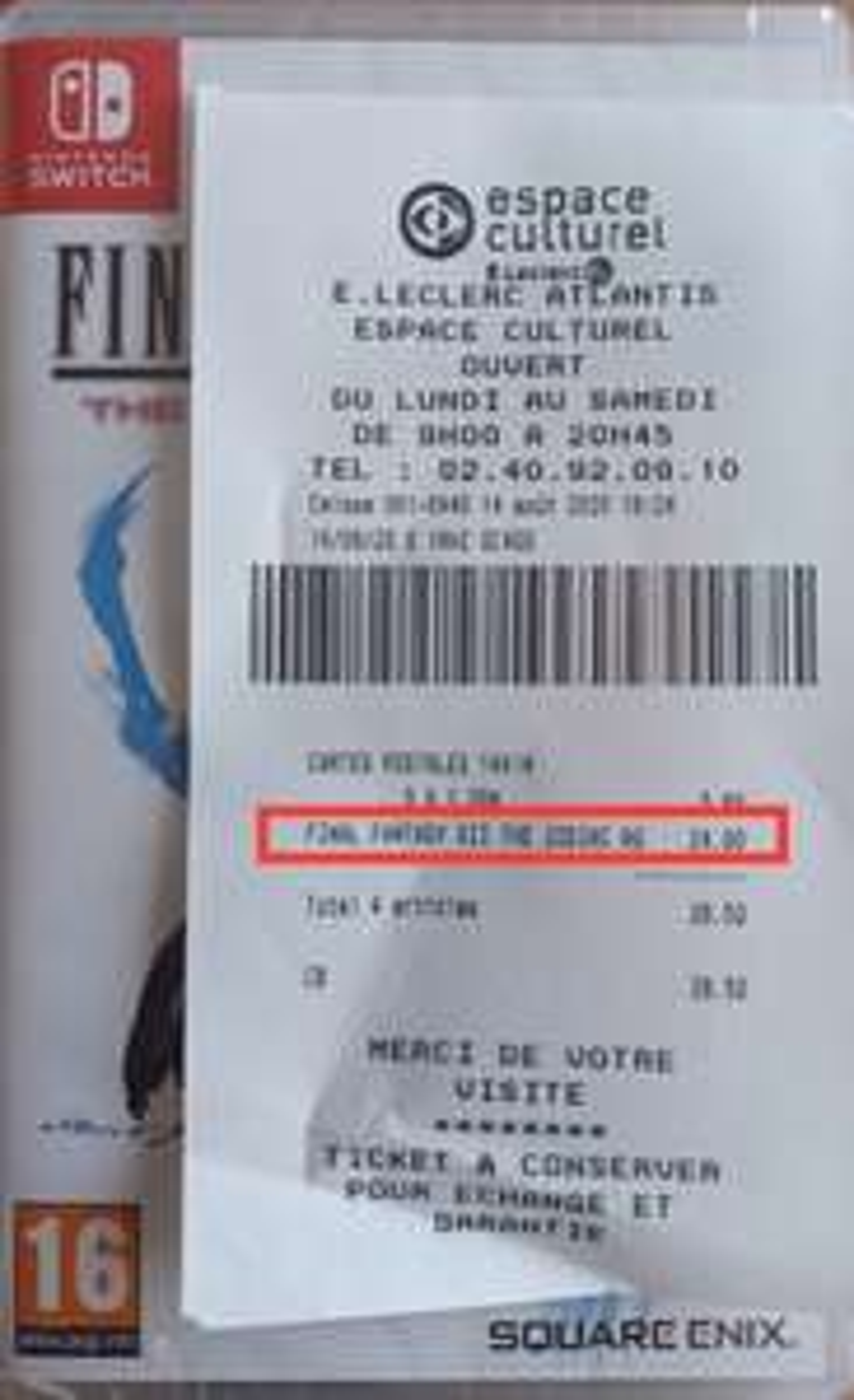 Final Fantasy XII sur Nintendo Switch - Saint-Herblain (44)