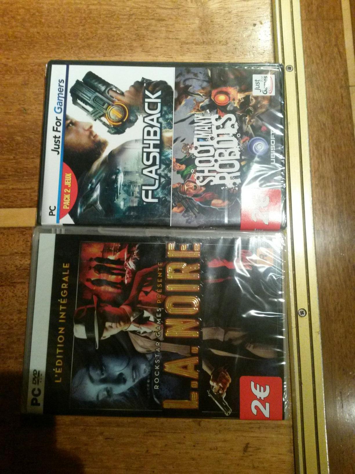 Sélection de jeux PC en promo (L.A. Noire - Edition Intégrale, Flashback...)