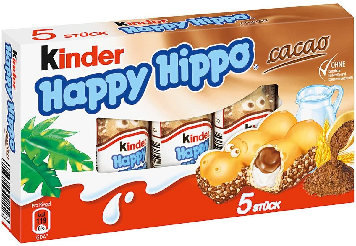 Paquet de Kinder Happy Hippo Cacao (DLUO dépassée) - Nantes Beaujoire (44)