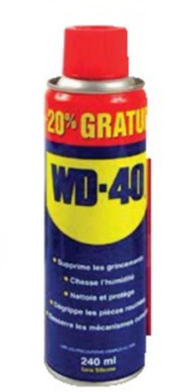 Dégrippant multifonction WD-40 Autoselect (240 ml)