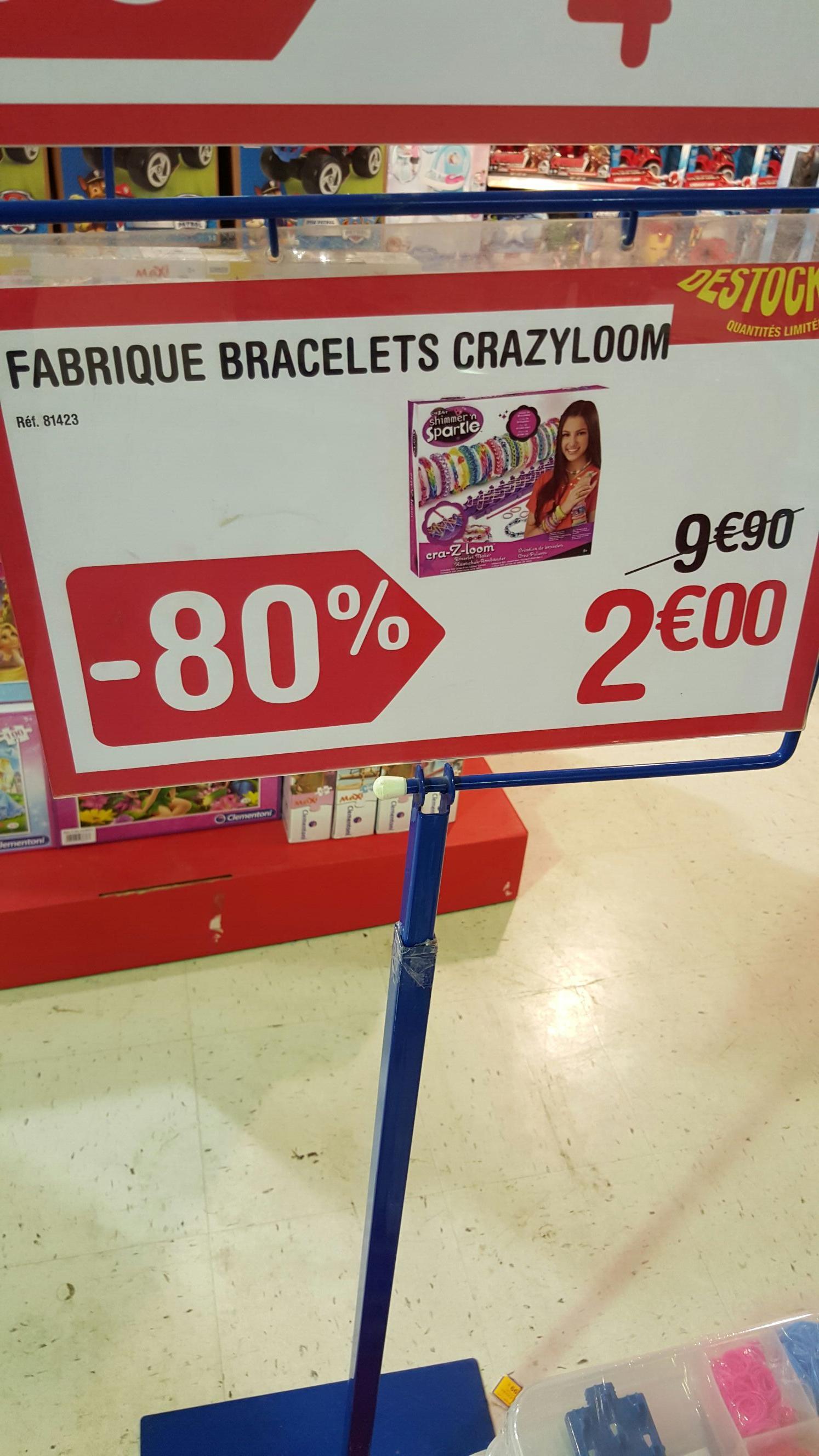Fabrique bracelets Crazyloom