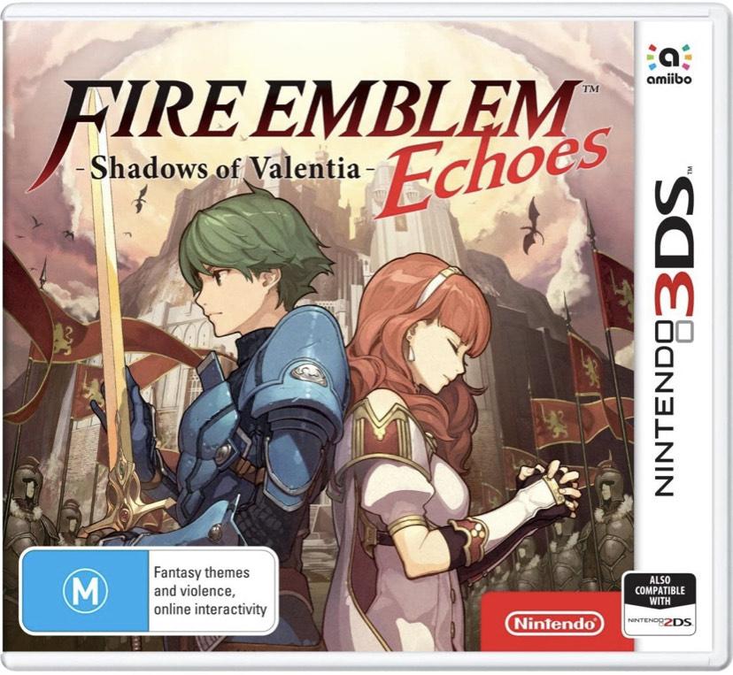 Fire Emblem Echoes: Shadows of Valentia sur Nintendo 3DS