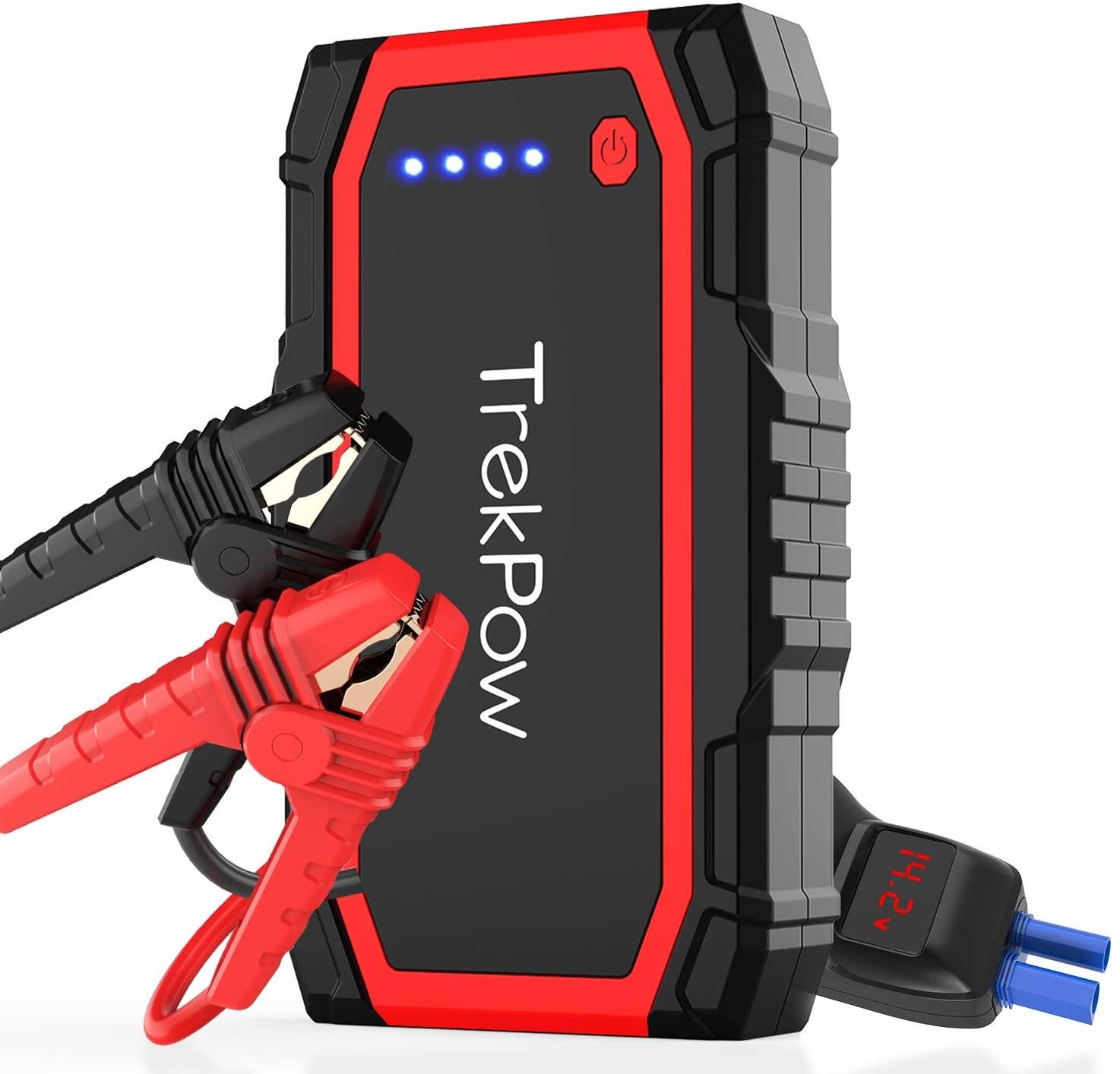 Chargeur / Booster de Batterie Auto TrekPow A18 - 800A, Essence 6L/Diesel 5L (Vendeur Tiers)