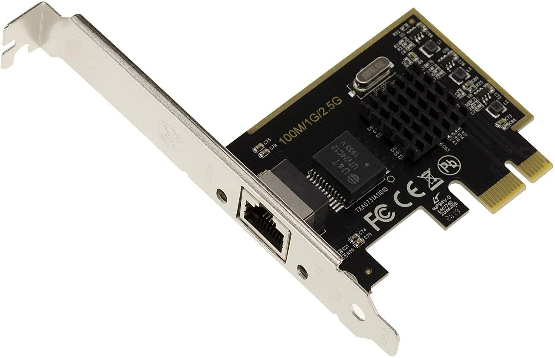 Carte réseau PCI-e - 2.5G, RTL8125, 2500 Mbps