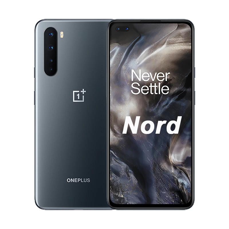 "Smartphone 6.44"" OnePlus Nord - 5G, Full HD+ AMOLED 90 Hz, Snapdragon 765G, RAM 8 Go, 128 Go (Bleu ou Gris)"