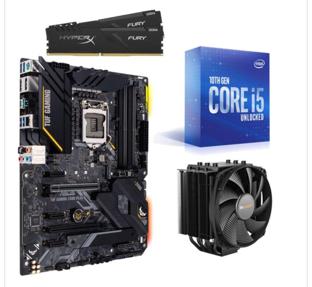 Intel Core i5-10600K + Asus TUF Gaming Z490-Plus + Dark Rock 4 + 16 Go RAM + Dying Light 2 et Dying Light Enhanced Edition (Dématérialisés)