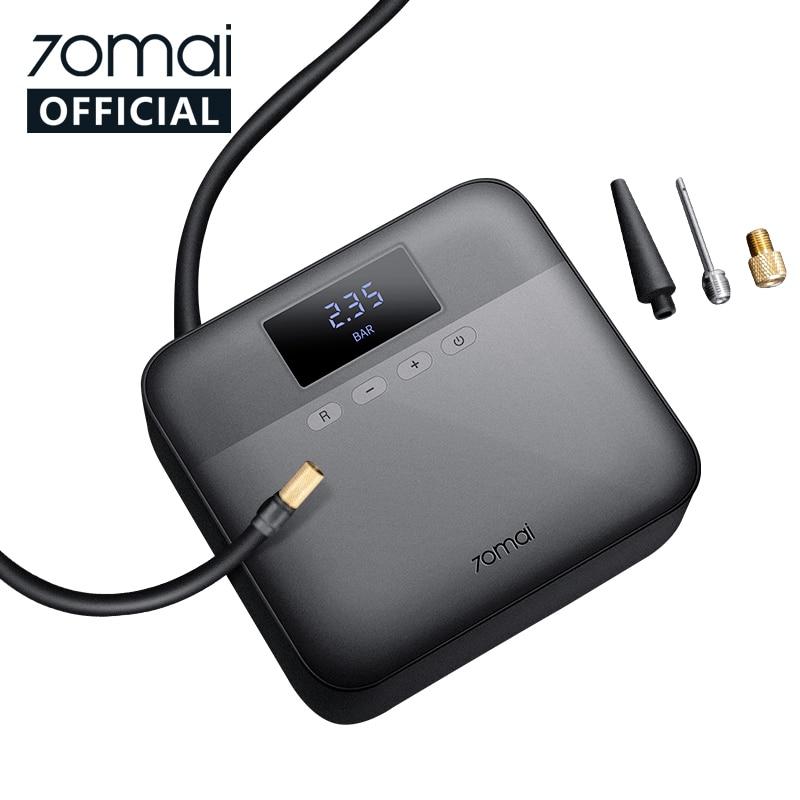 Compresseur à air portable 70Mai TP03 (Xiaomi Youpin) - 12V, Noir