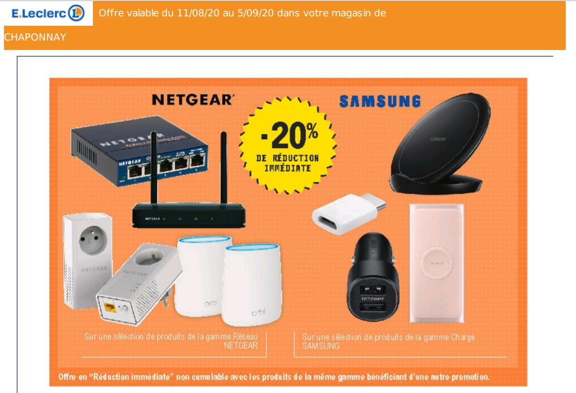 Pack de 2 CPL Wi-Fi Netgear PLW1000-100PES - National