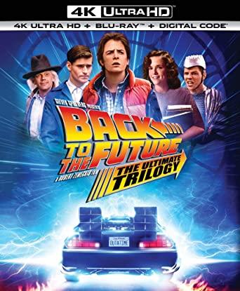 [Précommande] Blu-Ray 4K Trilogie Retour Vers le Futur (Frais de port inclus)