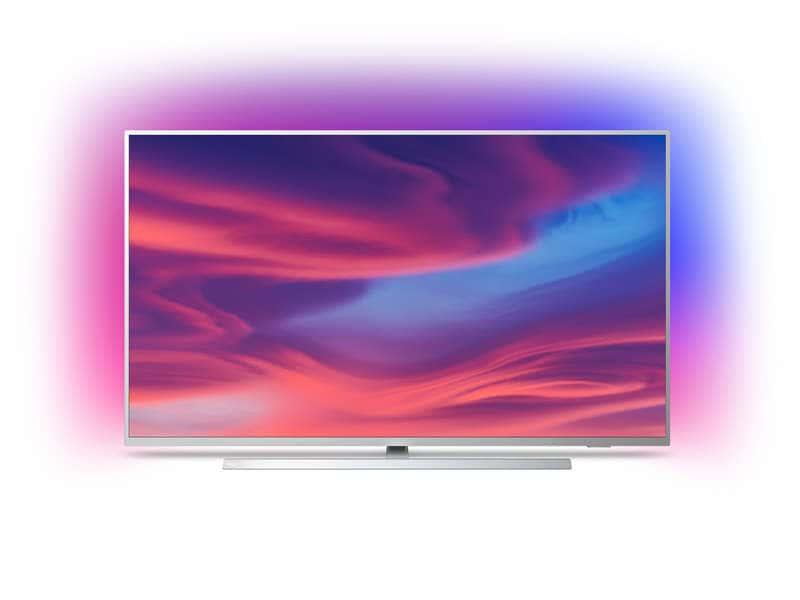 """TV 55"""" Philips 55PUS7304 - 4K UHD, LED, Android TV, Ambilight 3 côtés ( via 29.95€ crédité clients carte confo +)"""
