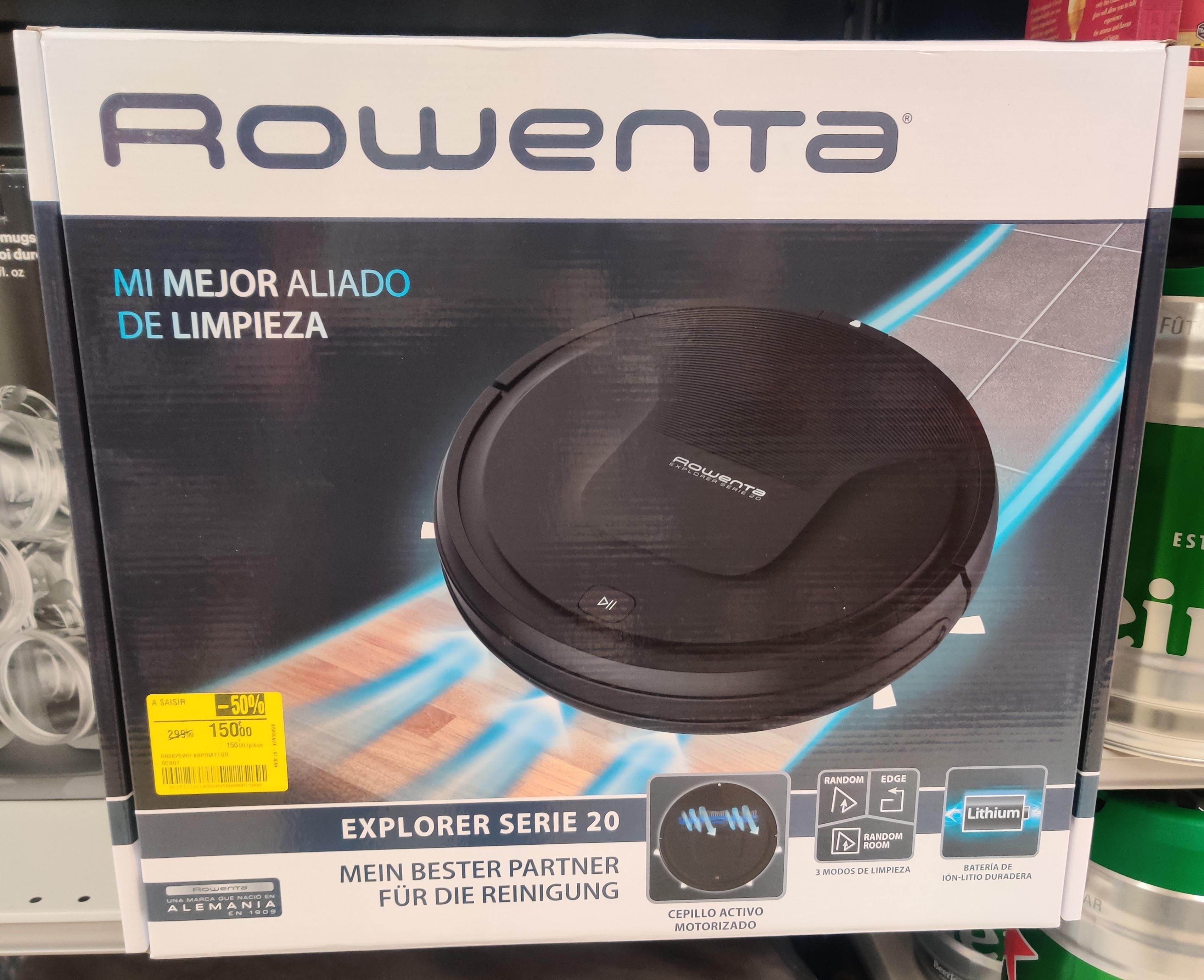 Aspirateur Robot Rowenta Explorer Serie 20 RR6825WH - Bordeaux (33)