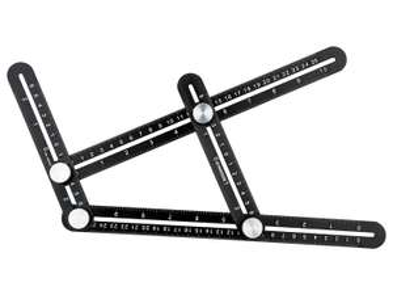 Règle multi-angles en aluminium