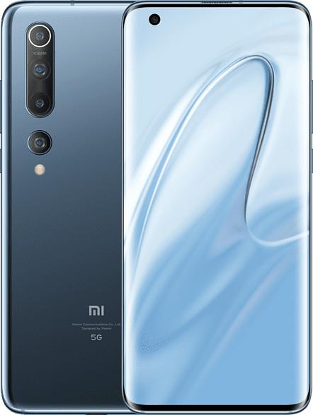 "Smartphone 6.67"" Xiaomi Mi 10 (full HD+, SnapDragon 865, 8 Go de RAM, 256 Go, 5G, gris ou vert) + Mi TV Stick (frontaliers Allemagne)"
