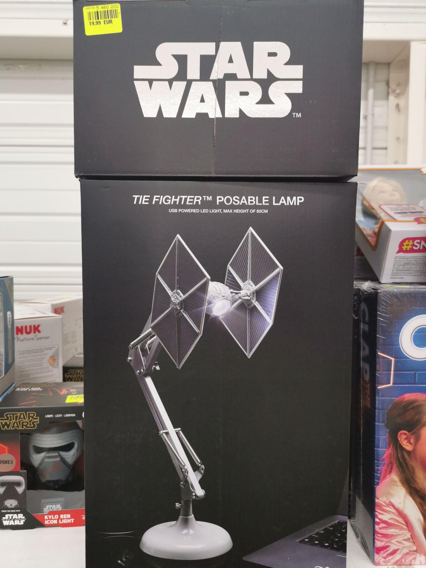 Lampe de bureau LED Star Wars Tie Fighter (via USB, 60 cm) - Cholet / Rennes (35/49)