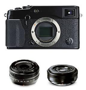Boitier Fujifilm X-Pro1 + 2 Objectifs 18 mm 1:2 et 27 mm 1:2.8