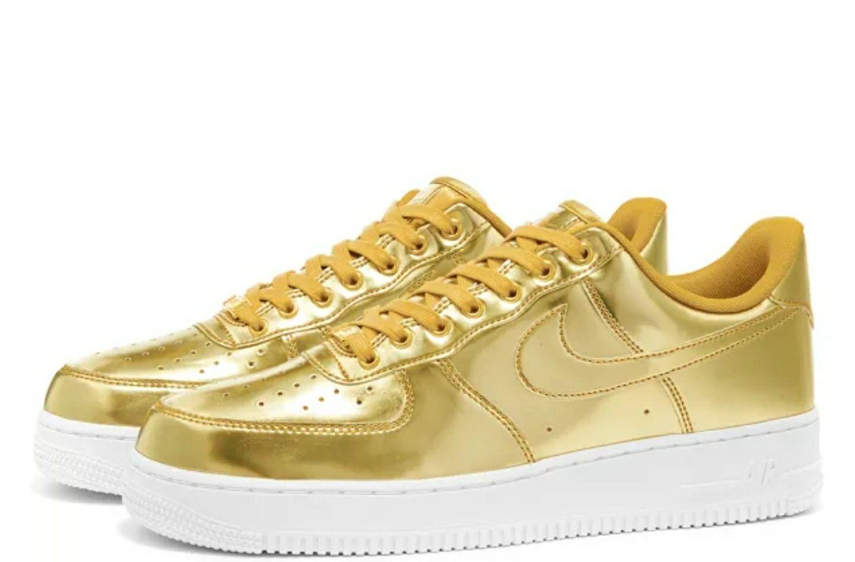Baskets Nike Air Force 1 WP W Metallic pour Femmes