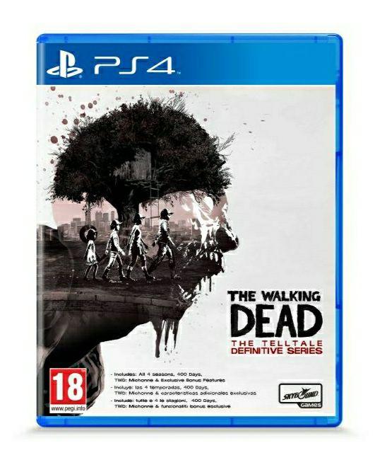 The Walking Dead: Telltale Definitive Series sur PS4