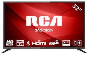 """TV LED 32"""" RCA RS32H2, Android TV, HD, 3 HDMI (Vendeur tiers)"""