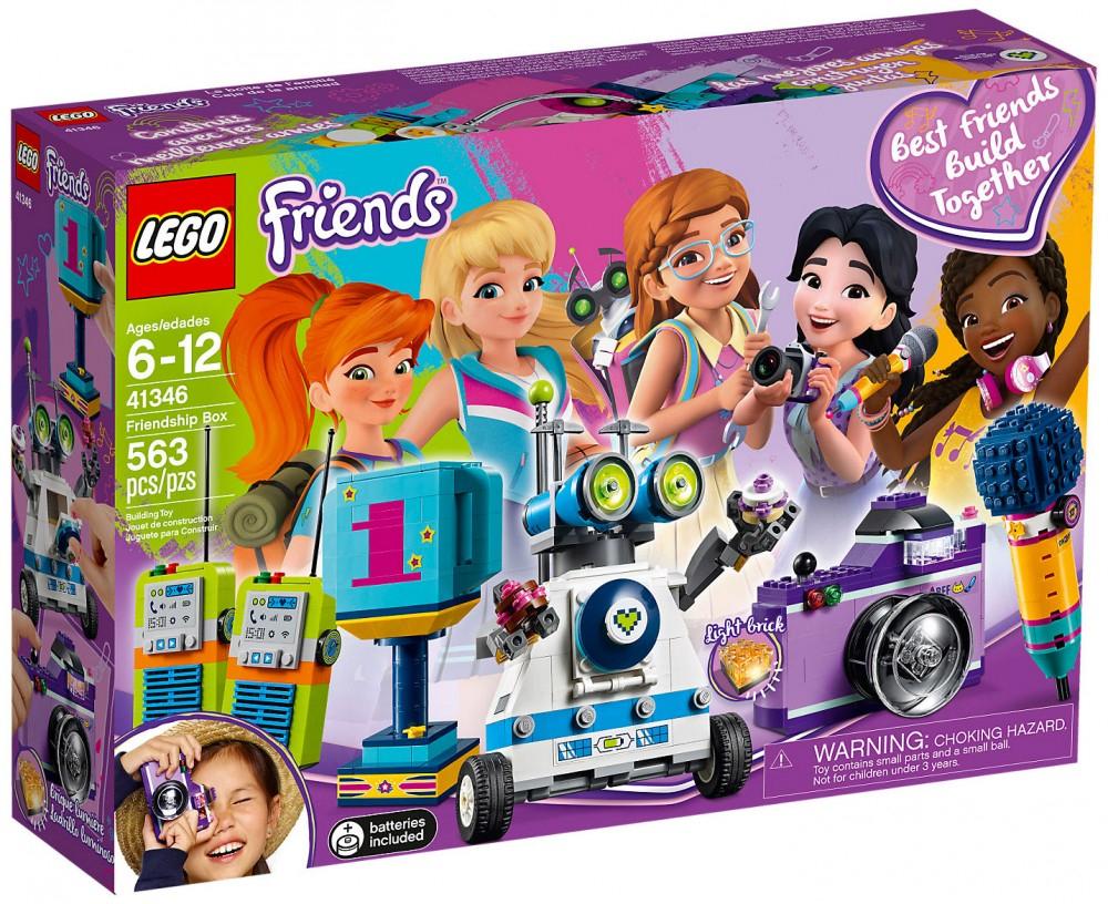 Jouet Lego Friends La boîte de l'amitié - 41346