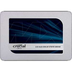 "SSD Interne 2.5"" Crucial MX500 - 2To, DRAM TLC AES"